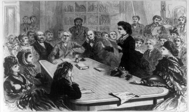 Victoria Woodhull - 1st woman to run for US President!